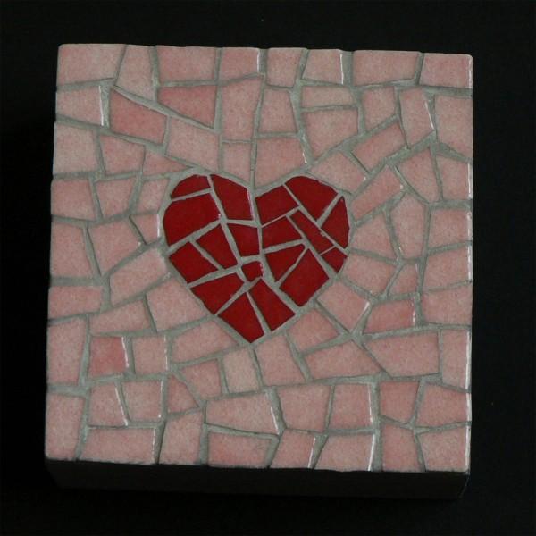 Boite mosaique coeur - Modele mosaique a imprimer ...